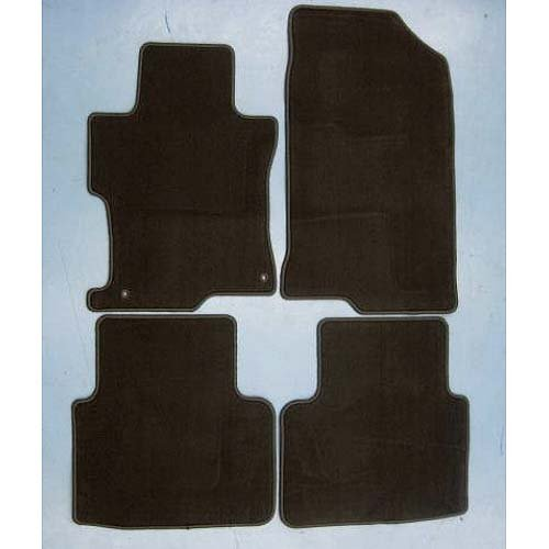 2008 2009 2010 2011 Genuine OEM Honda Accord 4 Door Sedan Carpet (Graphite Black) Floor Mats - Set of 4 (Black Carpet Sedan 4 Door)