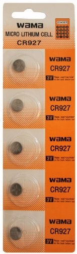 Cr927 Lithium Button (5 Powertron CR927 Lithium Button Cell batteries, 5-Pcs)