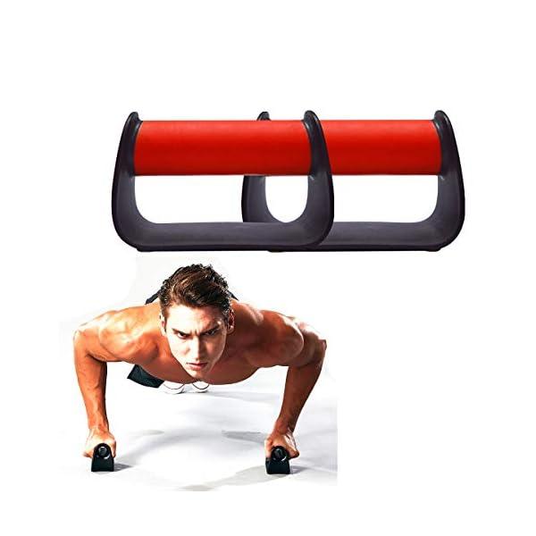 MetaBall Maniglie per Flessioni, Piegamenti sulle Braccia, Push Up Bar Stand per Palestra Fitness Esercizio Ginnastica… 1 spesavip
