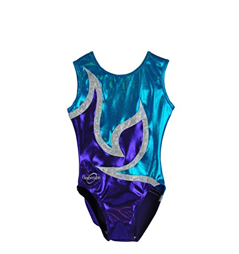 Obersee Kid's Gymnastics Leotard, Anya Turquoise, CL for sale  Delivered anywhere in Canada