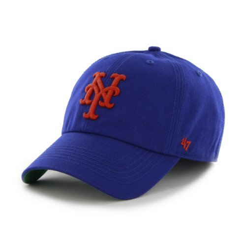 MLB New York Mets '47 Franchise Fitted Hat, Royal, Large (New York Mets Fitted Cap)
