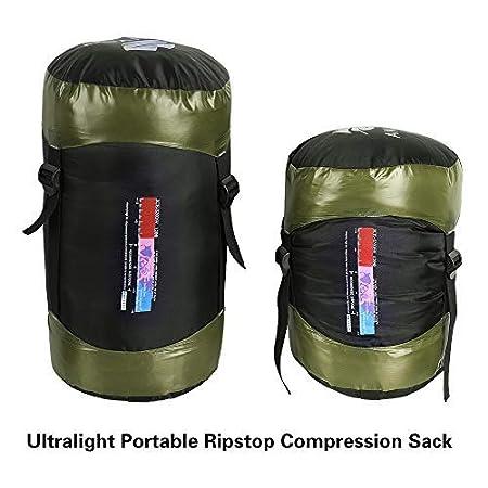 Anyoo Saco de Dormir Mummy Goose Down Ultralight Portable 3 Season para mochileros Senderismo Camping en Interiores y Exteriores para Adultos: Amazon.es: ...