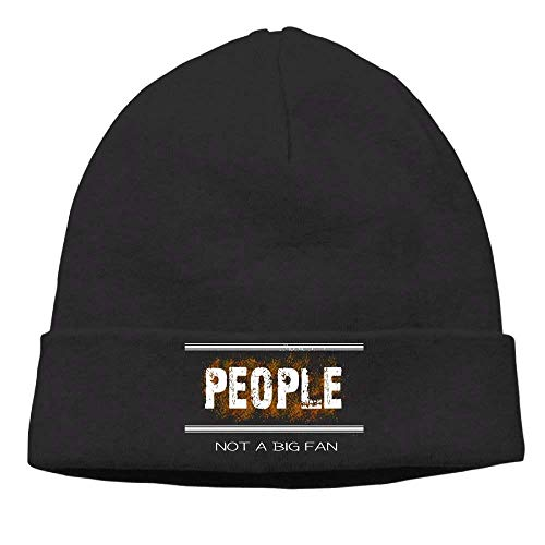 Black Hip Social Beanies Soft A Fan Anti Mens Funny Hop Big Hat People Not zPHxxwqpA