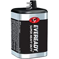 2-pack Eveready 1209 (509) 6 Volt Lantern Battery