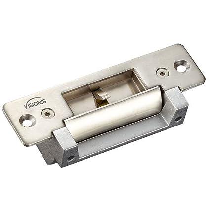 Visionis VIS-EL104-FSESA Cerradura Eléctrica de 2200lbs para Puertas de Madera y Metal