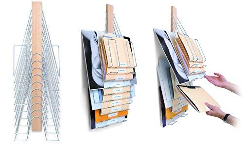Up Filer Original, Hanging Wall File, 10 Hangers/Pockets. Allows for Letter/Legal/Oversized by Up FilerTM