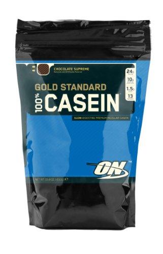 Optimum Nutrition 100% Casein Gold Standard Protein Chocolate, 1er Pack (1 x 450 g)