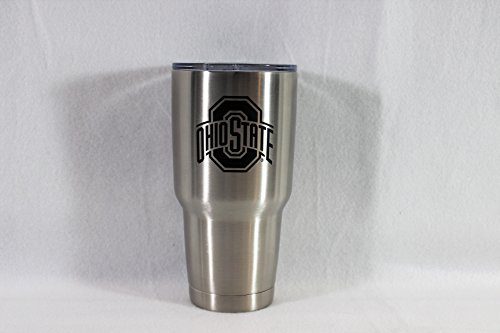 Ohio State Buckeyes Stainless Steel 30 oz Tumbler (Stainless Steel)