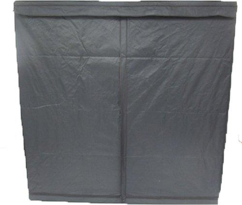 41J3TNlnAaL Aviditi PTU-69 Mylar Reflective Hydroponic Grow Tent, 77-Inch Wide by 77-Inch Deep by 77-Inch High