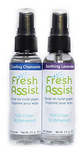 Fresh Assist Best Flushable Wipe Alternative - Soothing Lave