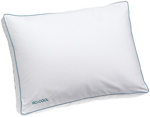 Iso-Cool Side Sleeper Polyester Pillow with Outlast Cover 2-Pack ()