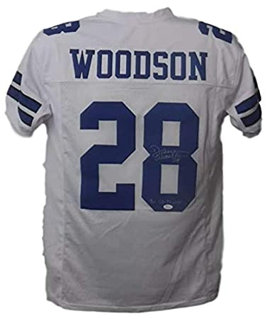Darren Woodson Autographed Dallas Cowboys Custom White Jersey 3x SB Champs  JSA 2e9bfe07e