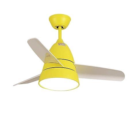 Amazon.com: Yang - Lámpara de techo con ventilador para ...