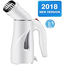 Homitt [New Version] Clothes Steamer, Portable Handheld Clothes Steamer Wrinkle Remover with Automatic Shut-off and Fast Heat-up Function Safe Use for Travel,Office and Home|Mother's Gift