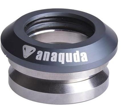Anaquda Full integrated Headset 1 1//8 Stunt-Scooter Steuersatz Titan Grau