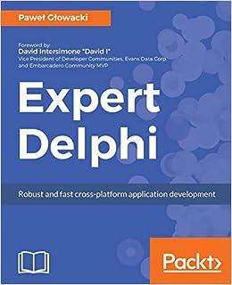 Amazon Com Applicationhelp >> Amazon Com Expert Delphi Robust And Fast Cross Platform