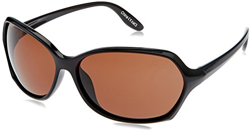 New Balance Stride in Style Sunglasses, Shiny Black, - Sunglass Style New