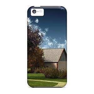 Lmf DIY phone caseNew Arrival Beauty House For Iphone 5c Case CoverLmf DIY phone case