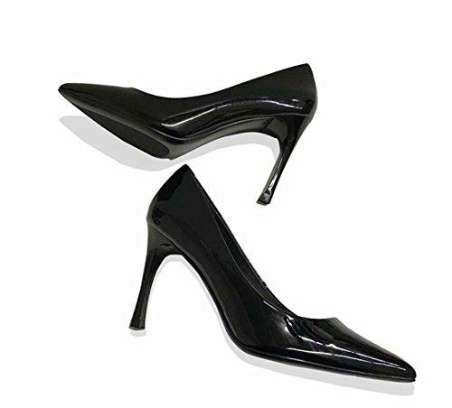 Club Bureau Microfibre Talons Bout Espigones Transparent Femmes à Nouveau Noir Pointu Soiree Classique Femmes Stiletto 2018 Chaussures 34 Chaussures Classique Vernis Inconnu O6qBgTxwAw