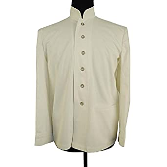 Men's Vintage Style Coats and Jackets WWI Twill Jacket $110.24 AT vintagedancer.com