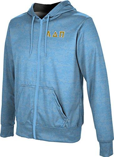 (ProSphere Alpha Delta Pi Men's Zipper Hoodie, School Spirit Sweatshirt (Digital) B8744)