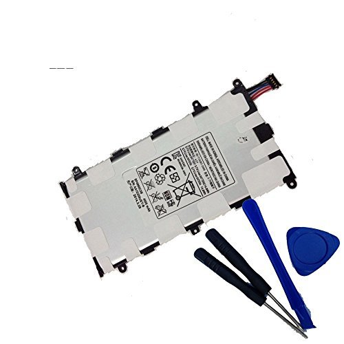 cement tablet battery for Samsung Galaxy Tab 2 7.0 P3100 P3110 P3113TS P6200 p6208 P3113 P6208 SP4960C3B P3100 Plus GT-P6210 Sgh-t869 Aa1c426bs/t-b with Installation Tools ()
