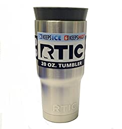 Silicone Masking Plug for 20 Ounce Tumbler - Fits RTIC, YETI, Ozark SIC and more
