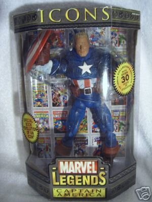 Marvel Legends 12 Inch Icons Series 1 Captain America - Marvel Legends Icon Series