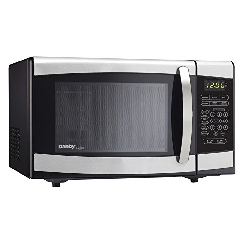 DMW077BLSDD .7 cu ft Countertop Microwave With 700 Watts Of Cooking Power 10 Power Levels 1-Touch Cooking Easy-To-Read LED Timer 6 Specialty Modes & In Stainless (Danby 700 Watt Microwave compare prices)