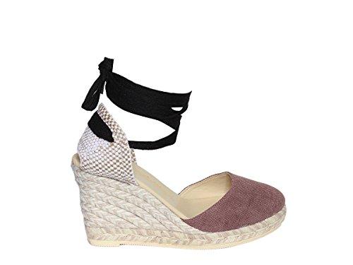 Donna Chiara Rosa Estate Melange Espadrilles Primavera Viejo Sandalo Scarpe 2018 BEwvOtq