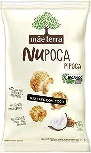 Pipoca Mãe Terra Açúcar Mascavo com Coco Integral e Orgânica 40g