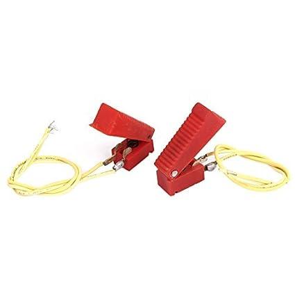 Red Shell eDealMax plástico 2 Terminales de CO2 pistola de soldadura de corte del interruptor de 2 PC - - Amazon.com