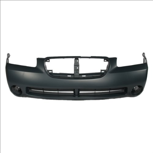 CarPartsDepot, Front Bumper Cover Assembly New Unpainted Primed Plastic w/ Fog Hole, 352-36882-10-PM NI1000192 620225Y725