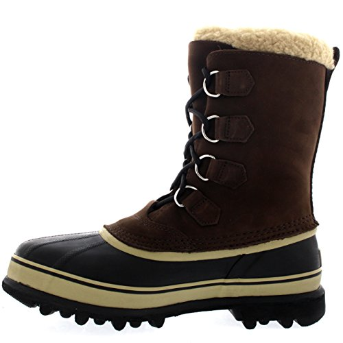 Herren Sorel Caribou Winter Schnee Wasserdicht Mitte Wade Stiefel Zimt