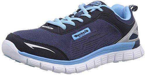 Dockers by Gerli 36VN20 - zapatilla deportiva de material sintético mujer azul - Blau (navy/blau 666)