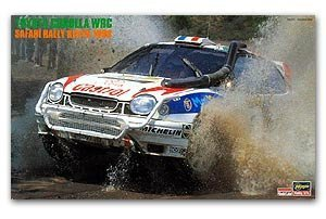 Toyota Corolla WRC Safari Rally Kenya 98
