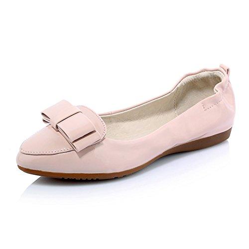 Superficial señora dulce rollo de huevo zapatos/zapatos de suela suave de fondo plano/zapatos puntiagudos en primavera B