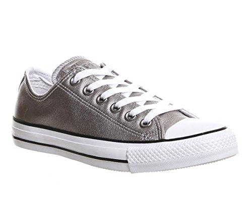 Converse Silver Uk Unisex Erwachsene All Chuck Star Core größe Größe 7 Kurzschaft Exclusive New Stiefel Leather 5 Ox Taylor r7gWr