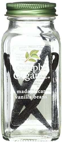 Simply Organic Organic Madagascar Vanilla Beans 2 beans, 2 ct by Simply Organic