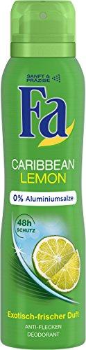 Fa Deospray Caribbean Lemon, 6er Pack (6 x 150 ml)