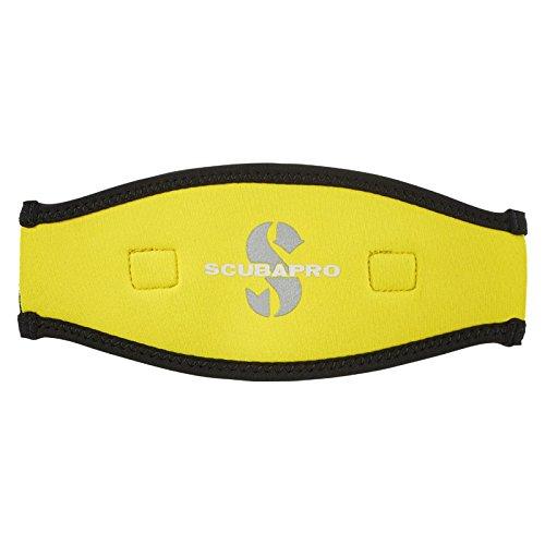 Scubapro Maskenband 2,5mm schwarz/gelb