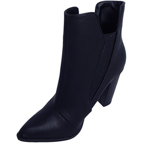 Penny Loves Kenny Women's Avid Chelsea Fashion Boots, Black, Faux Leather, 7 M by Penny Loves Kenny (Image #2)