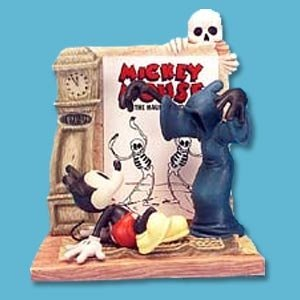 Mickey Mouse Haunted House 1929 (Haunted House Figurine)
