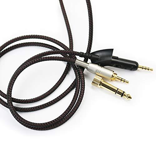 NewFantasia Replacement Audio Upgrade Cable Compatible with Bose QuietComfort 15, QC15 Headphones 2meters/6.6feet