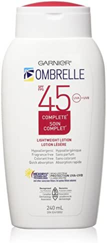 L'Oreal Ombrelle Sunscreen SPF 45 w/ MEXORYL LARGE 8 oz size Blocks UVA & UVB