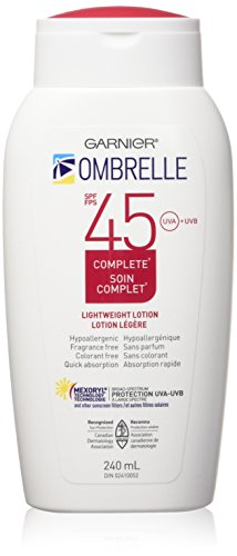 (L'Oreal Ombrelle Sunscreen SPF 45 w/ MEXORYL LARGE 8 oz size Blocks UVA & UVB)