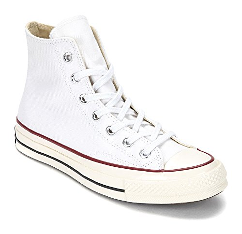 Converse Chuck Taylor All Star 70 Hi Sneakers, Blanco, 149446c (us Hombres 4.5 / Mujeres 6.5)
