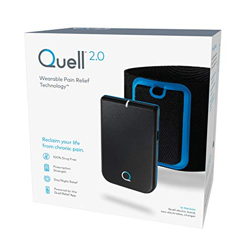 Quell 2.0 Wearable Pain Relief Technology, Black
