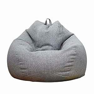 Amazon.com: MAZIFLY - Puf con funda suave, gran sofá en ...