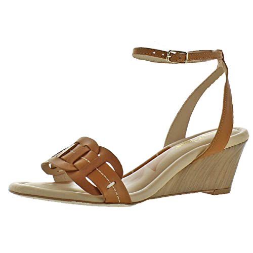 Tommy Bahama Women's Florence Row Tan Leather 7 B US B (M) (Tommy Rockers)